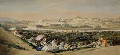 400px-La pradera de San Isidro de Goya