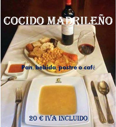 Los jueves, cocido madrileño