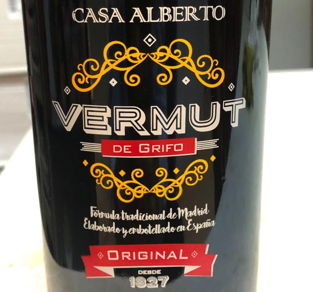 Vermut Casa Alberto