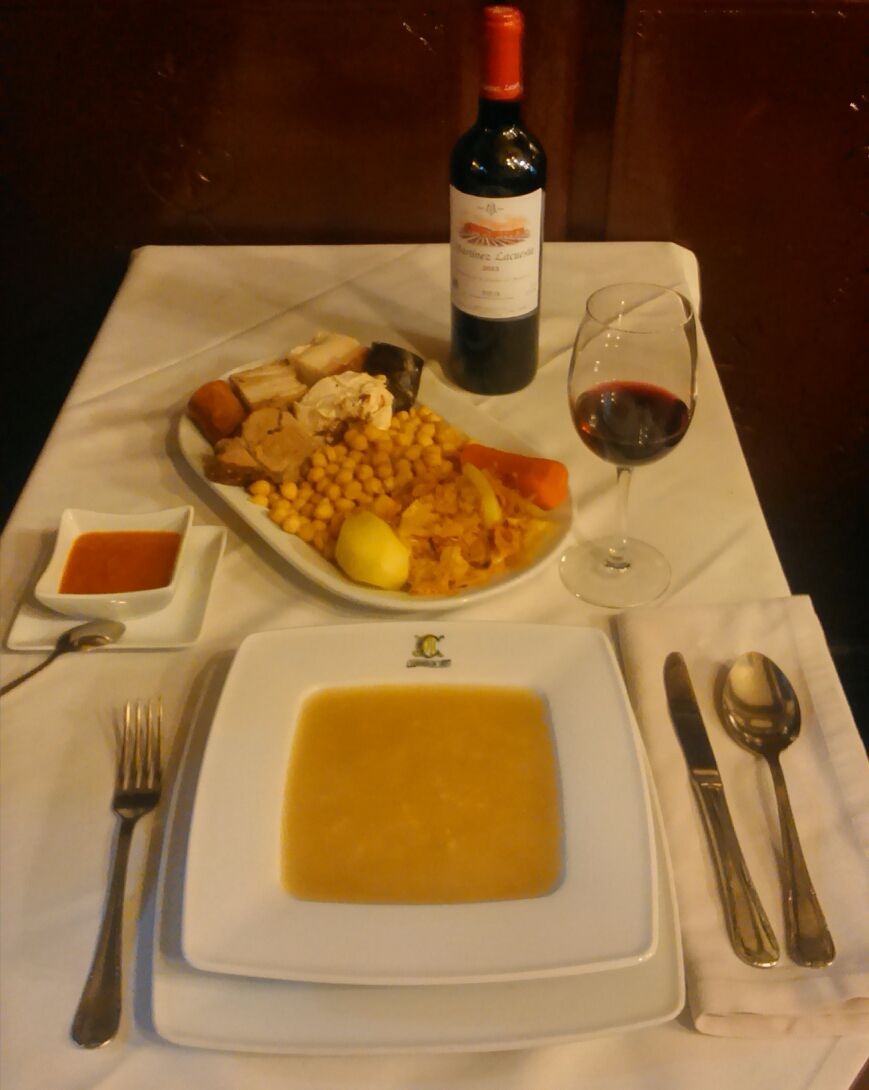 Nuestro Cocido Madrileño